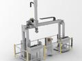 桁架机器人提升企业加工铸铝锭自动化水平;