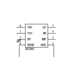 东莞AIC2362 2A输出电流DC/DC降压转换器厂家直销